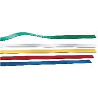 PLANNING SISPLAMO Banda magnética 5 Ud 18x500 mm Colores surtidos 9014/S, (1 u.)