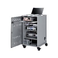NOBO Mueble Multimedia 95x57x60cm 4 estantes 1902339, (1 u.)