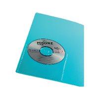 UNIPAPEL fundas CD/DVD autoadhesivas PVC transparente 479ACD10, (100 u.)