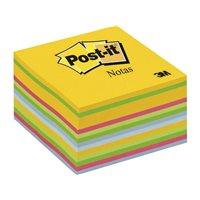 POST-IT Cubo notas adhesivas 350h Amarillo ultra 76x76mm FT510280157, (1 u.)