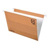 GIO Carpeta colgante A4  240x315 x 15mm Kraft Bicolor 240 gr 25 visores Varilla acero  400021941, (1 u.)