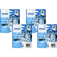 EPSON Cartucho Optimizador Brillo T0870 Brillo Pack 2 0 C13T08704010, (1 u.)