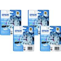 EPSON Cartuchos Inyeccion T0872 Cyan Blister + Alarma C13T08724020, (1 u.)