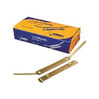 UNIPAPEL Fasteners Metalico Caja 100 Ud Dorado B0168, (1 u.)