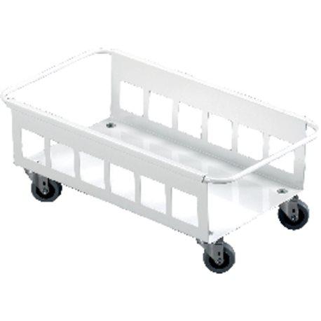 DURABLE Carritos ruedas contenedores Durabin 60L 180X470X260 Blanco Para Durabin 60L 1801666010, (1 u.)
