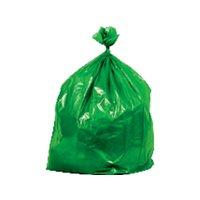 BUGA Bolsas de basura Paquete 15 ud 550X600 Verde ecopino 15760, (1 u.)