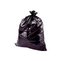 BUNZL Bolsas de basura Paquete 10 ud 800x1050 Negra ALTA RESISTENCIA ref.21690, (1 u.)