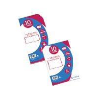 GALLERY Pack de 10 sobres 110X220 offset blanco 90 gr. apertura fácil tira silicona 05/08945O, (1 u.)