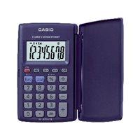CASIO Calculadora de bolsillo HL-820 VER 8 digitos Pilas HL-820VER, (1 u.)