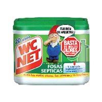 WC NETLimpiador Fosas Septicas 20 ud capsulas 6309337, (1 u.)