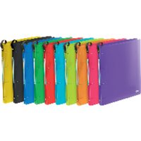 ELBA Carpeta anillas School Life Colores brillantes 400015264, (1 u.)