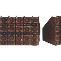 PARDO Revistero Premier A4/folio Lomo curvo Marrón Fabricación artesana 235506, (1 u.)