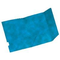 GIO Subcarpetas caja 25 ud A4 Cartulina 2 solapas azul 320 gr 400039912, (1 u.)