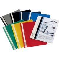 DURABLE Dossiers Duraplus A4 Fastener metalico Amarillo PVC 2579-04, (25 u.)
