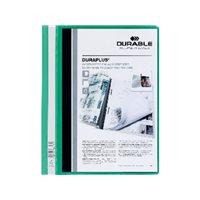 DURABLE Dossiers Duraplus A4 Fastener metalico Verde PVC 2579-05, (25 u.)