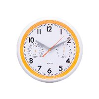 UNILUX Reloj Oracle Naranja 400032214, (1 u.)
