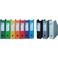 ELBA Caja10revistero Elba ColorplegableA4 Lomo 70 mm Negro400081699, (1 u.)
