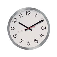 UNILUX Reloj de pared Redondo 100340859, (1 u.)