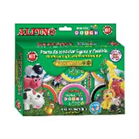 ALPINO Pasta modelar Magic Dough 6 ud 40 g Colores surtidos DP000139, (1 u.)