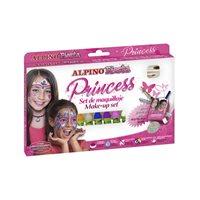 ALPINO Pinturas Maquillaje Princess 6 Ud Colores surtidos Barra Barra DL000010, (1 u.)