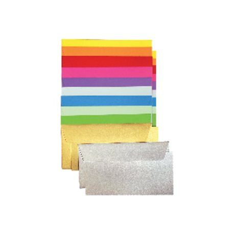 CLAIREFONTAINE Sobres Paquete 20 ud 110X220  Clementina 120 G 075185, (1 u.)