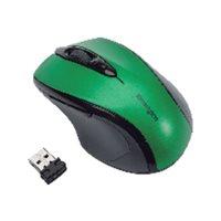 KENSINGTON Ratón inalámbrico Pro Fit tamaño mediano óptico usb verde K72424WW, (1 u.)