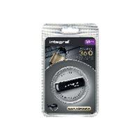 INTEGRAL Memoria USB 2.0 Secure 360 32 GB negro INFD32GB360SECV2, (1 u.)