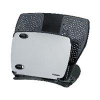 FELLOWES Soporte para portátil 17'' Professional Series metálico ajustable negro/plateado 8024602, (1 u.)