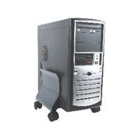 FELLOWES Soporte para CPU metálico 40 kg grafito 9169201, (1 u.)