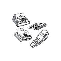EXACOMPTA Rollo de papel Termico Para sumadora Termico 57X40 Rollo 40741E, (5 u.)