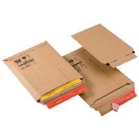 COLOMPAC Bolsas Paquete 20 ud 235x340x35mm Carton extra A4+bl Tira siliconada Apert.superior CP01054, (1 u.)