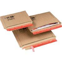 COLOMPAC Bolsas Paquete 20 ud 340x235x35 Carton extra Tira siliconada CP01504, (1 u.)