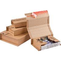 COLOMPAC Caja Envio Pack 20 u A4:302x215x80mm CP02008, (1 u.)