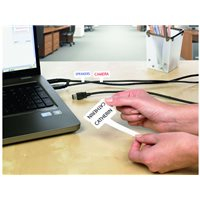 AVERY Etiquetas sujetacables Caja 20 hojas 60x40/45x40mm L7950-20, (1 u.)
