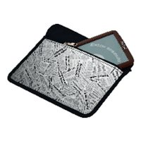 IBERPLAS Funda neceser para tablet Newspaper 10'' 264GNP, (1 u.)