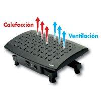 FELLOWES Reposapiés con calefacción Climate Professional Series negro 8070901, (1 u.)
