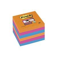 POST-IT Notas adhesivas Super Sticky  Pack 6 blocs 90h Colores eléctricos 76x76mm 70005253292, (1 u.)
