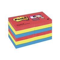 POST-IT Notas adhesivas Super Sticky  Pack 12 blocs 90h Colores Joya Pop 51x51mm 70005253557, (1 u.)