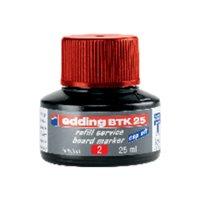 EDDING BTE TINTA 25ML MARC PIZ RO BTK25-02, (1 u.)