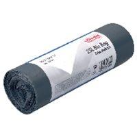 VILEDA Bolsas de basura Rollo 30 ud 25L Gris 138747, (1 u.)