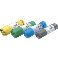 VILEDA Bolsas de basura Industrial extrasuper Rollo 20 ud 90x110 Verde 138753, (1 u.)