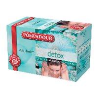 POMPADOUR Infusiones Detox Caja 20 ud Bolsas 40117, (1 u.)