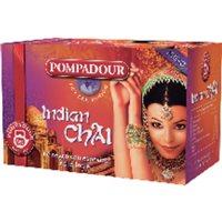 POMPADOUR Infusiones Sabores del mundo Indian Chai Caja 20 ud Bolsas 40105, (1 u.)