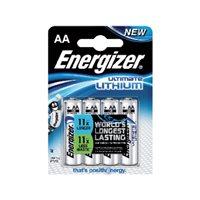 ENERGIZER Pilas Litio Pack 5 ud. AA LR6 636896, (1 u.)