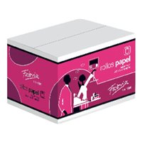 FABRISA Rollo de papel Termico Ancho 57 mm Mandril 12 mm. 16170, (10 u.)