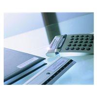AVERY Etiquetas laser poliester Caja 20 hojas 63,5x29,6 Plata L6011-20, (1 u.)