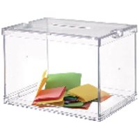 ARCHIVO 2000 Buzon sugerencias 310x440x310 mm Transparente 6158CSTP, (1 u.)