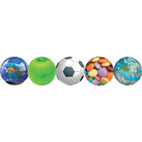 FELLOWES Alfombrilla para ratón circular rígida fútbol 5880904, (1 u.)