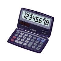 CASIO Calculadoras SL-100 VER 8 digitos Solar /pilas SL-100VER, (1 u.)