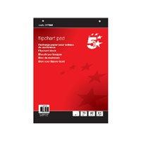 5 STAR Bloc Pizarra 40 Hojas 81.3X59.5CM 12058 FL01301, (1 u.)